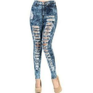 Vibrant M.I.U high-waist skinny jeans size 7